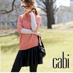 CAbi Orange Cowl Neck; NWOT